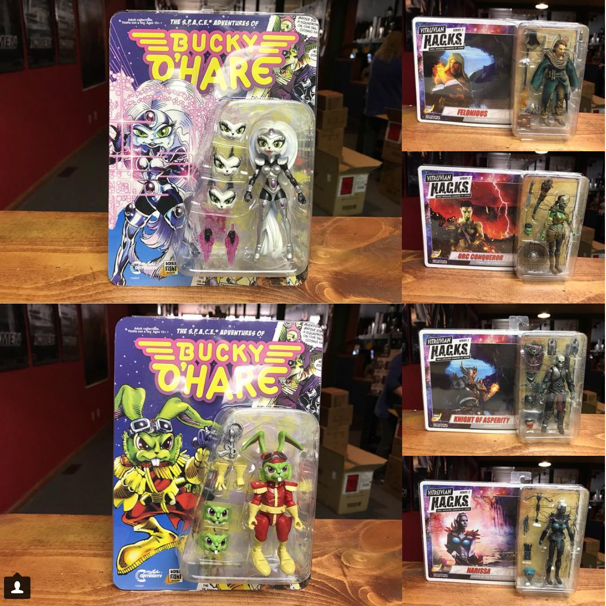 Kokomo Toys eBay Store – Boss Fight Studio Bucky O'Hare Figures & More