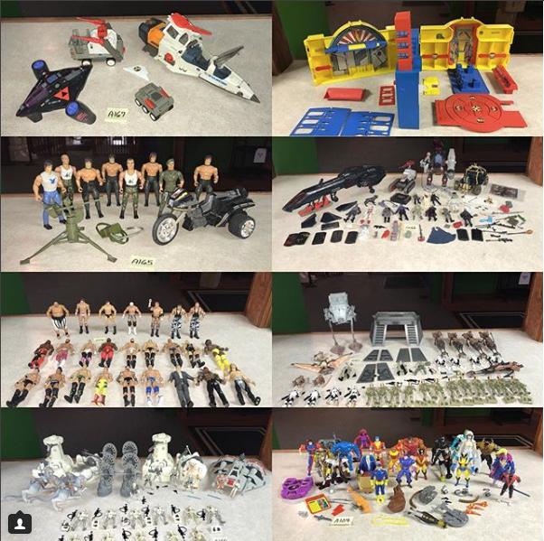 Kokomo Toys eBay Store Update – Rambo, Star Wars, WWE, GI Joe, DC Super Powers, Marvel & More