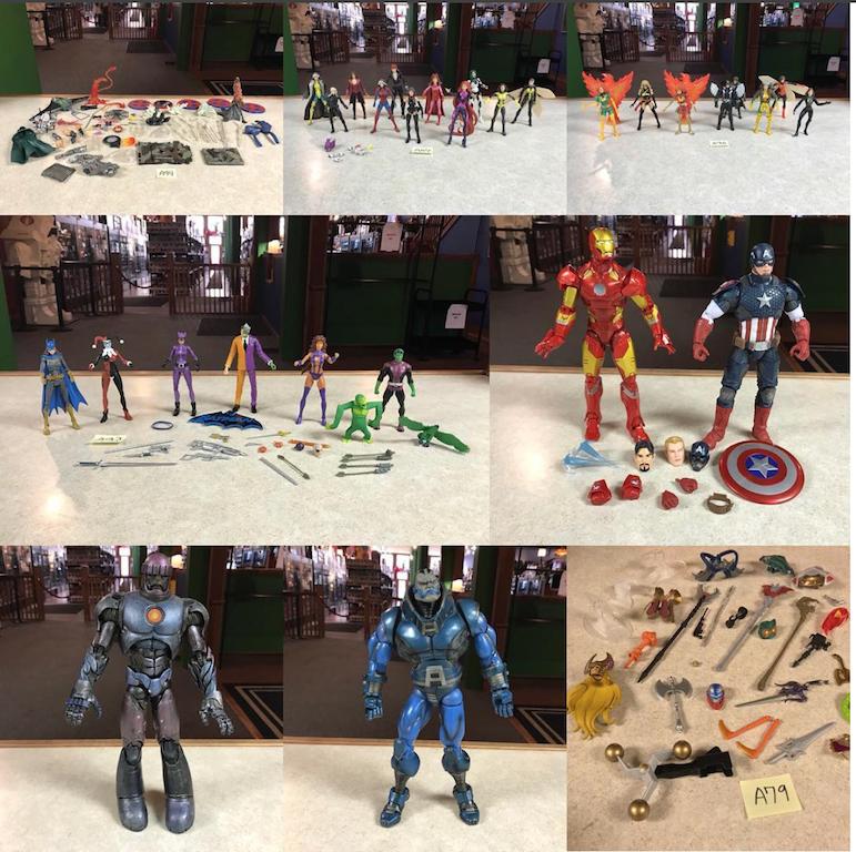 Kokomo Toys eBay Store Update – Marvel Legends,  DC Universe Classics & MOTU Classics