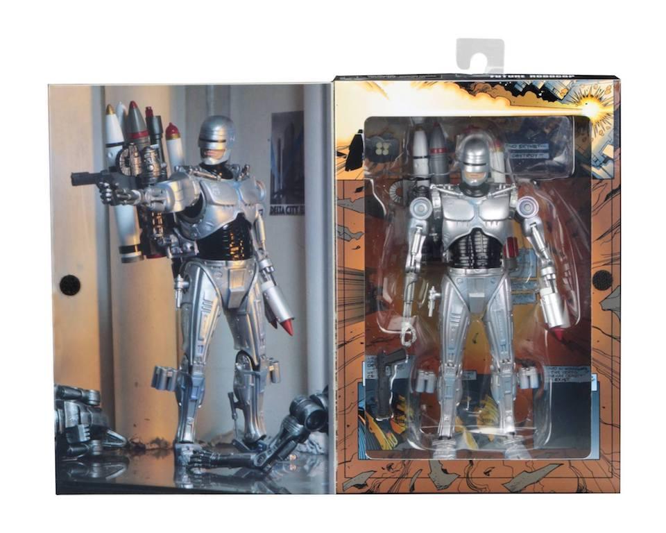 NECA Toys Robocop Vs. Terminator Ultimate Future Robocop In-Packaging