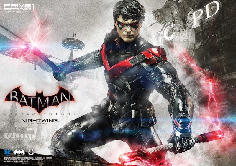 Prime 1 Studio Arkham Knight Nightwing Red Version Statue