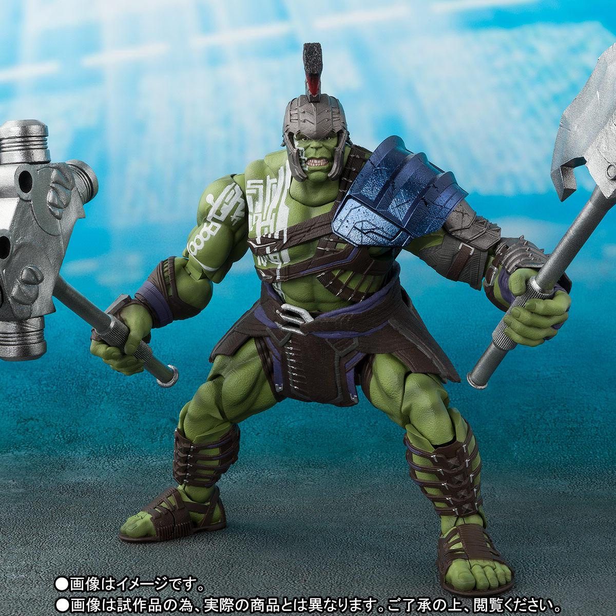 Bandai Tamashii Nations S.H.Figuarts Thor: Ragnarok – Thor & Gladiator Hulk Figures Update