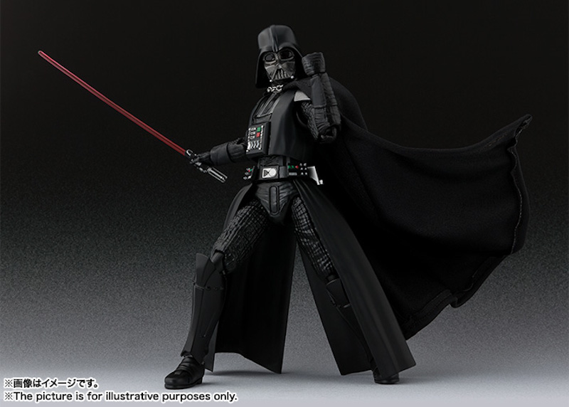 S.H. Figuarts Star Wars: A New Hope Darth Vader Official Details & Images