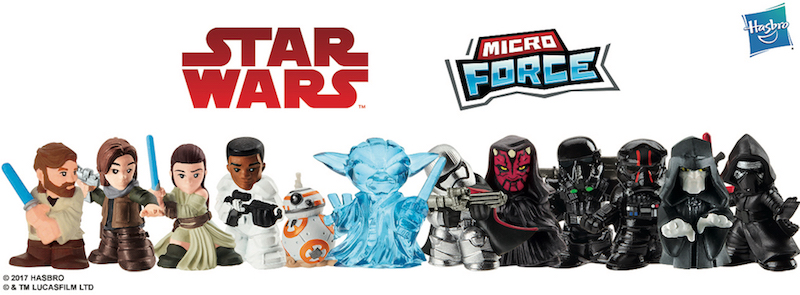Hasbro Announces Star Wars Micro Force Collectibles