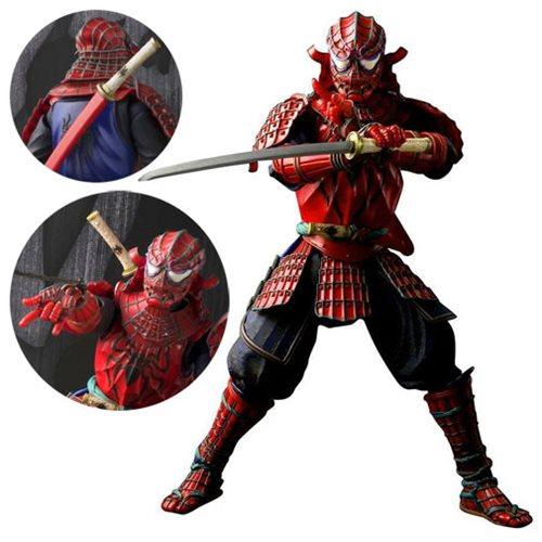 Entertainment Earth Daily Deal –  Samurai Spider-Man Meisho Manga Realization Figure Now $49.99