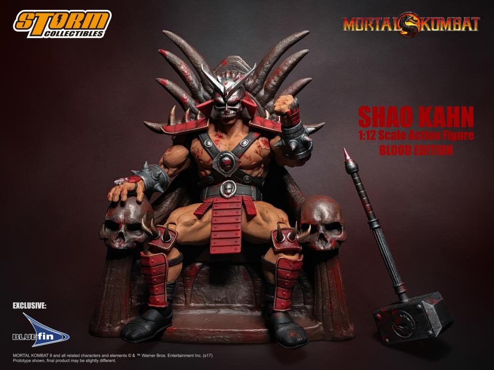 Storm Collectibles Mortal Kombat Shao Kahn 1/12th Scale Bloody Edition Figure