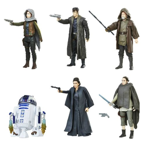 Star Wars: The Last Jedi Orange 3 3/4″ Figures Wave 2 In-Stock On Entertainment Earth (Update)