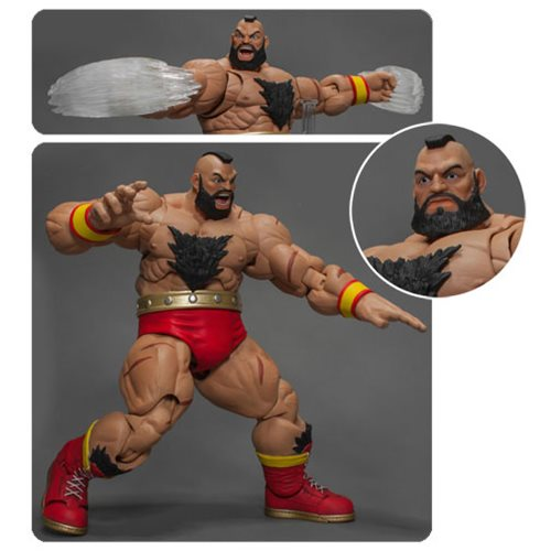 Street Fighter V Zangief 1:12 Scale Figure Available Now