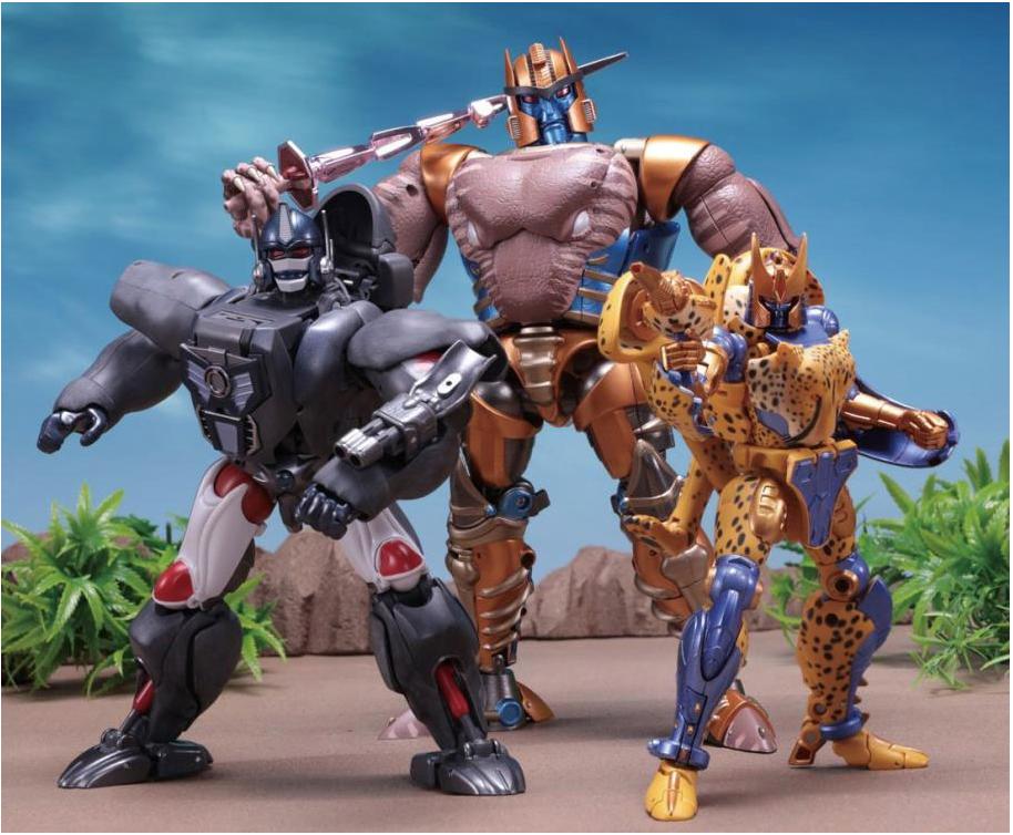 Takara-Tomy Transformers Masterpiece MP-41 Dinobot Figure Update
