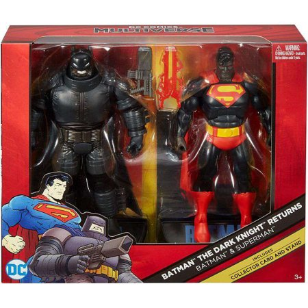 Wal-Mart Cyber Weekend Sale – Mattel Shop Exclusive DC Multiverse Batman & Superman 2-Pack Now $16