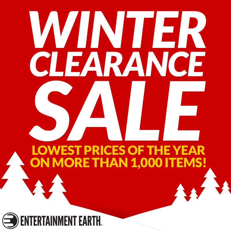 Entertainment Earth Launches Winter Clearance Sale With Year-End Savings