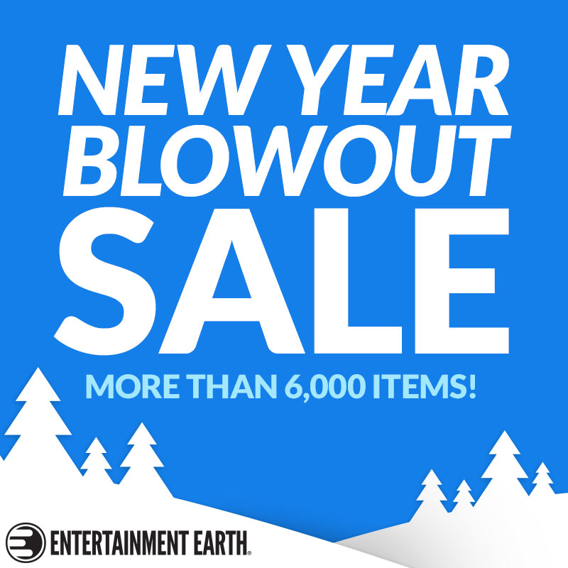 Entertainment Earth New Year Blowout Sale Ends January 9th