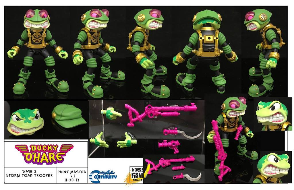 Boss Fight Studio – Bucky O'Hare Wave 3 Storm Toad Trooper Figure Pre-Orders On BigBadToyStore