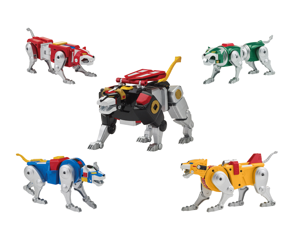 Playmates Toys Voltron '84 Legendary Lion Collection Figures Available This Week