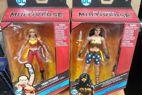 Mattel DC Comics 6″ Multiverse Wave 7 Carded Figure Images & Update