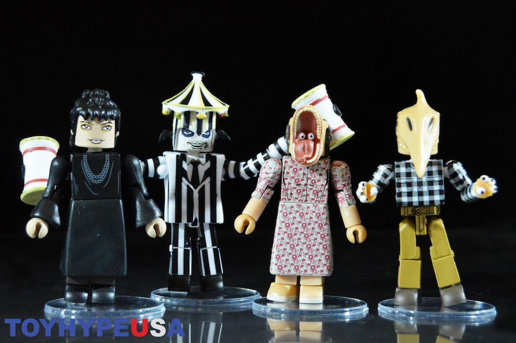 Diamond Select Toys Beetlejuice Movie Minimates Box Set Review