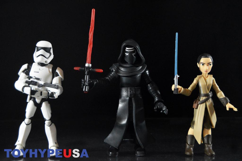 Disney Exclusive Star Wars Toy Box – Kylo Ren, Rey & Stormtrooper Figures Review