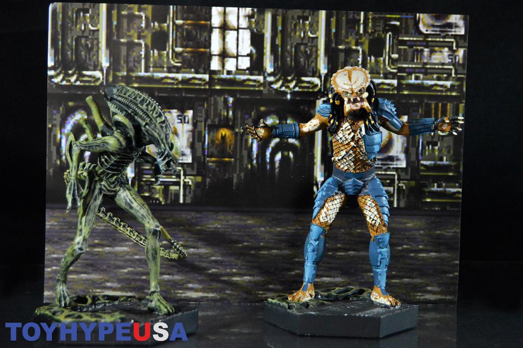 Eaglemoss Alien Vs. Predator – Video Game Paint Variant Figurine Box Set Review