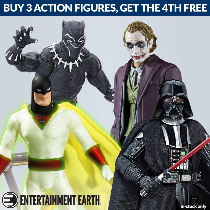 Entertainment Earth – Action Figure BOGO Sale, Star Wars, MUSCLE, Marvel & More
