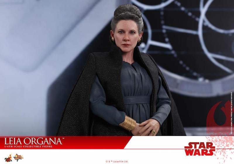 Hot Toys Star Wars: The Last Jedi General Leia Sixth Scale Figure