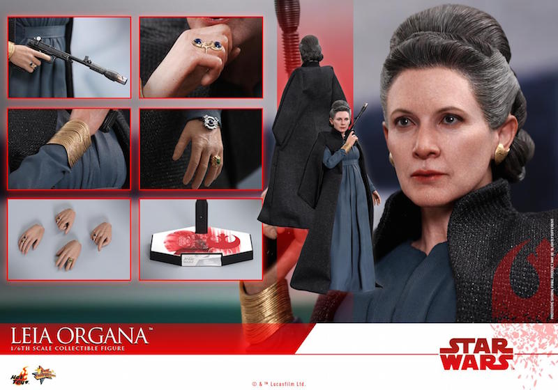 Hot Toys Star Wars: The Last Jedi General Leia Sixth Scale Figure Pre-Orders