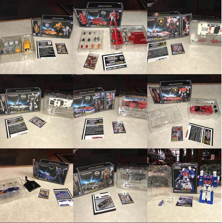 Kokomo Toys eBay Store – Transformers Masterpiece Figures