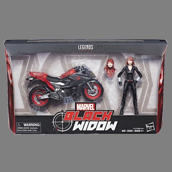 Hasbro Marvel Legends 6″ Scale Vehicles – Ghost Rider & Black Widow