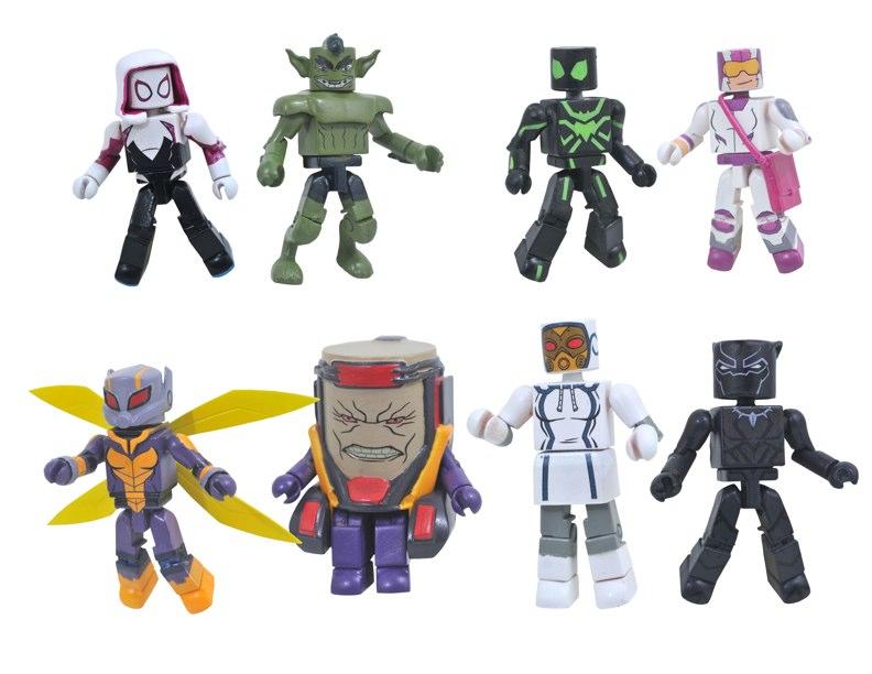 Diamond Select Toys Marvel Animated Minimates Series 8
