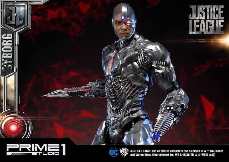 Prime 1 Studio Justice League Movie Cyborg Statue Pre-Orders