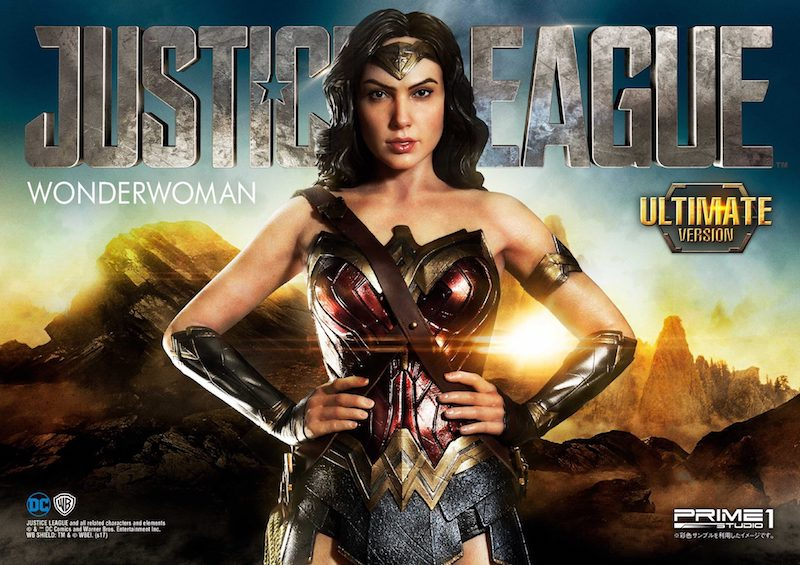 Prime 1 Studio Justice League Wonder Woman Statues & Bust