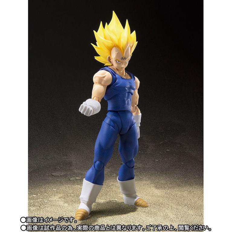 S.H. Figuarts Dragon Ball Z Majin Vegeta & Frieza Resurrection Figures In-Stock On Amazon
