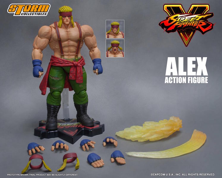 Storm Collectibles Street Fighter V Alex Figure