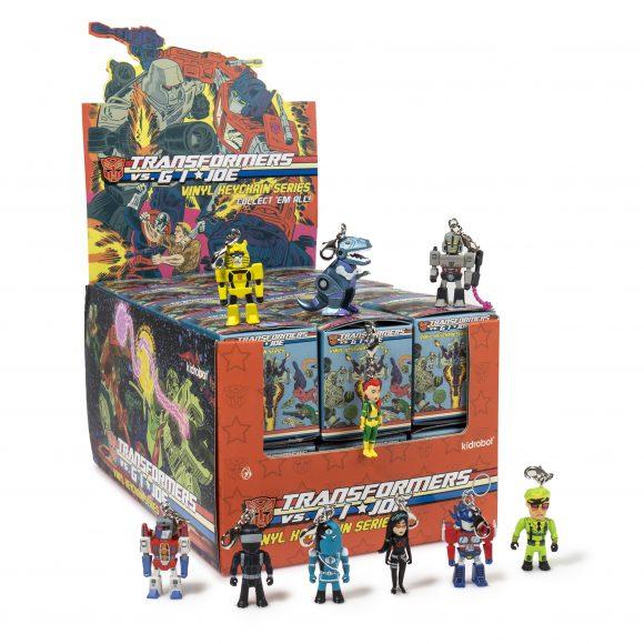 Kidrobot – Transformers vs. GI Joe Keychains Available Now