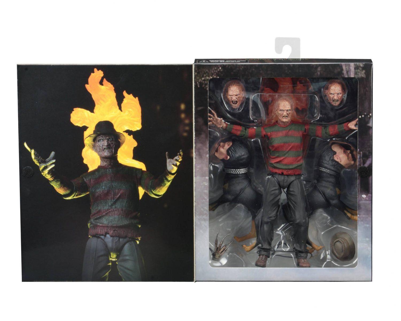 NECA Toys Nightmare On Elm Street – 7″ Scale Ultimate Part 2 Freddy Figure On Amazon & eBay