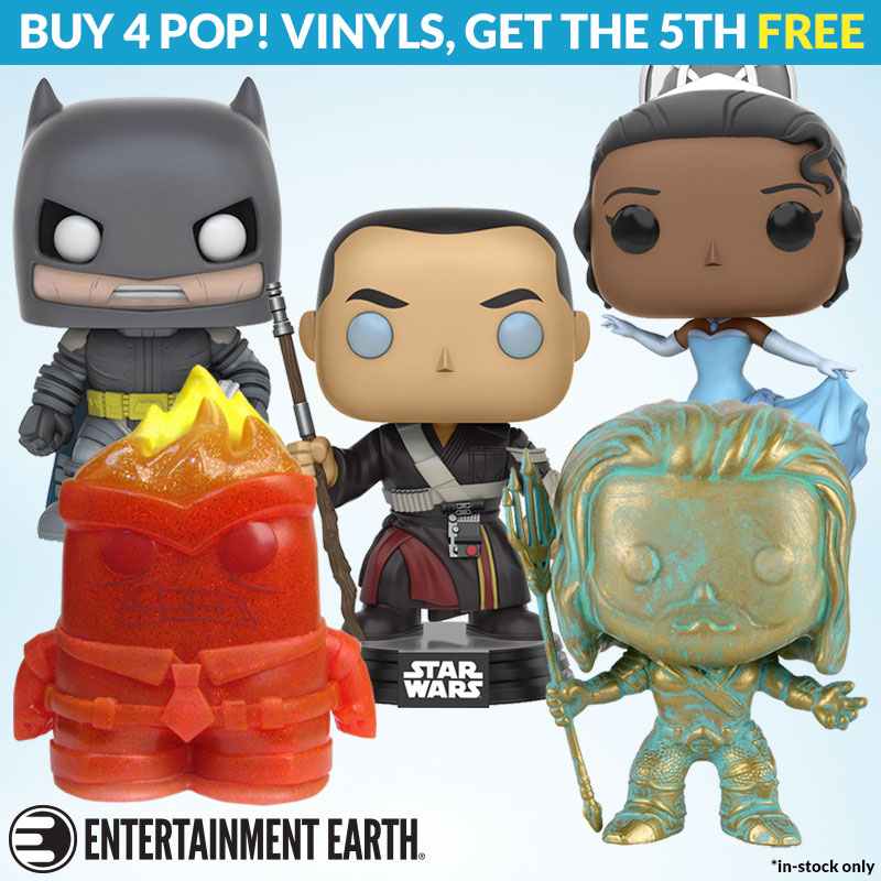 Entertainment Earth –  Star Wars, Horror, DC, Nosferatu & More