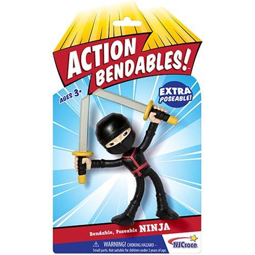 NJ Croce Announces Action Bendables 4″ Figures