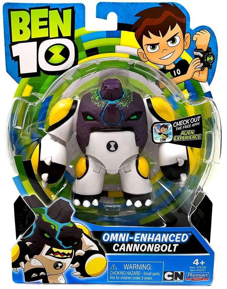 Playmates Toys Ben 10 Omni-Enhanced Heat Blast, DiamondHead & CannonBolt Figures