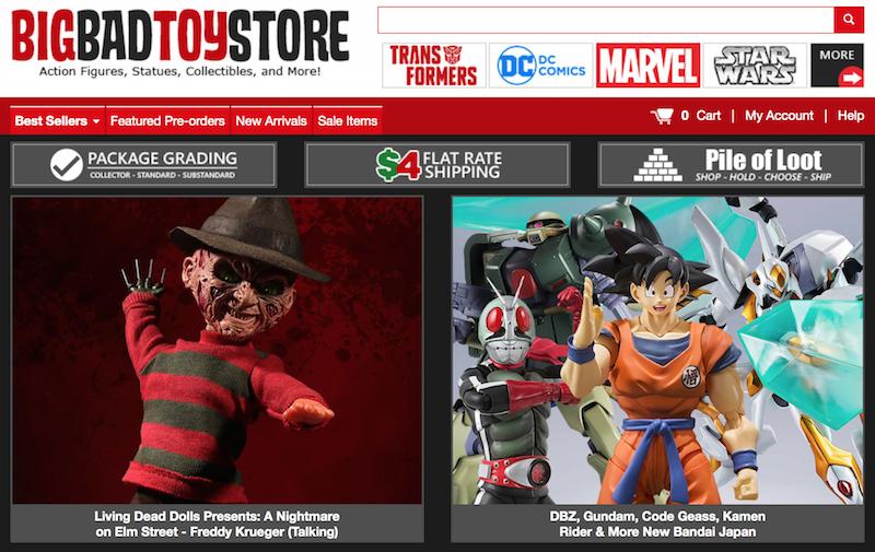 BigBadToyStore – DBZ, One:12 Iron Man, LDD Freddy Krueger, Star Wars, Mortal Kombat, Street Fighter & More
