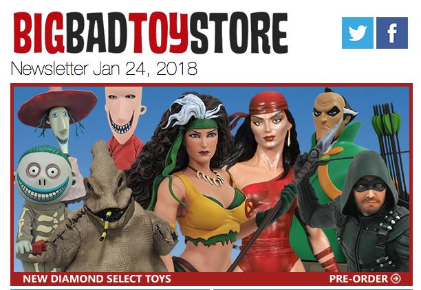 BigBadToyStore – Diamond Select, Machine Robo, DC Collectibles, Eaglemoss, Gwenpool, Iron Man, Dragon Ball & More