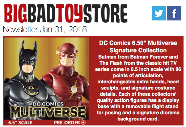 BigBadToyStore – DC Multiverse, Arrow, Robotech, DBZ, Gundam, Star Wars, Transformers, LDD, Funko, Anime & More