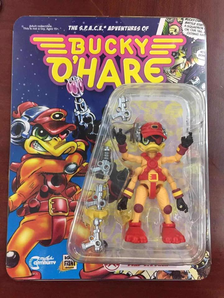 Boss Fight Studio Stealth Mission Bucky O'Hare & Dead-Eye Duck In Packaging