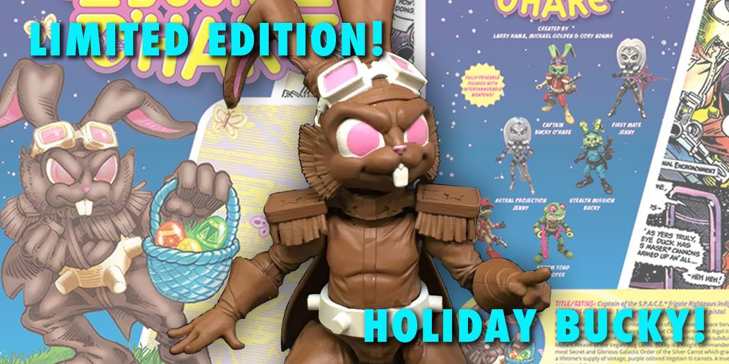 Boss Fight Studio Bucky O'Hare Special Chocolate Bunny Edition