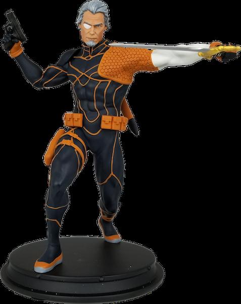 Icon Heroes –  DCTV Arrow, Flash, & DC Rebirth Deathstroke Unmasked Statues