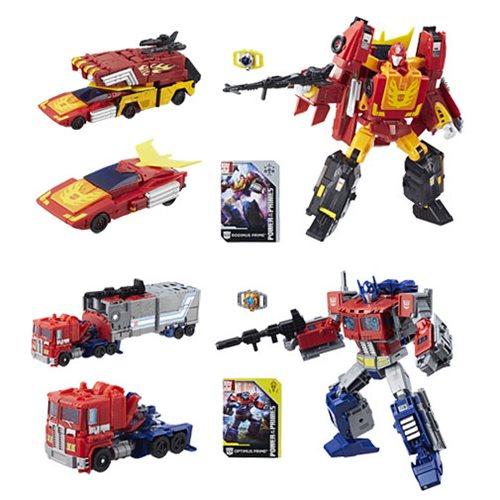 Entertainment Earth – Hasbro Transformers Power Of The Primes Optimus Prime & Rodimus Prime Figures