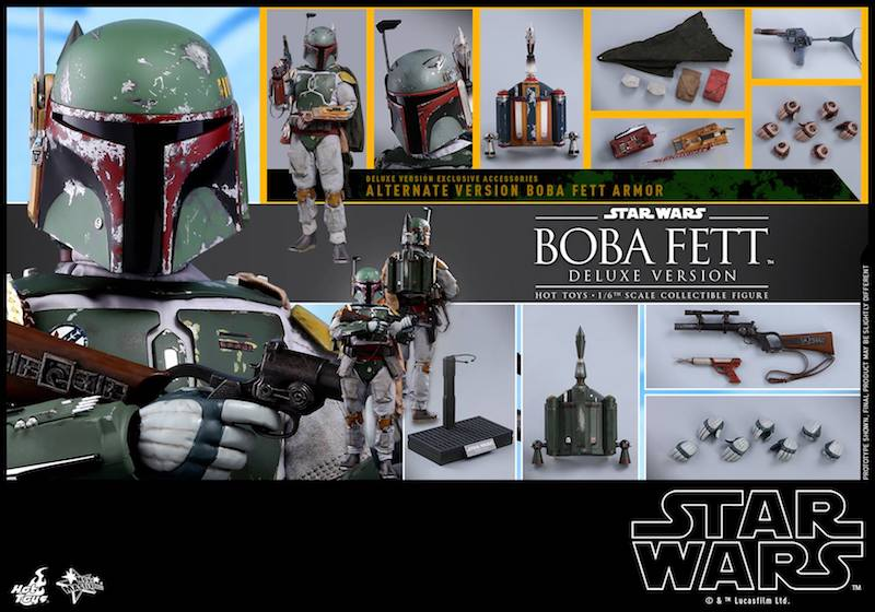 Hot Toys Star Wars: The Empire Strikes Back – Boba Fett Sixth Scale Figure Pre-Orders