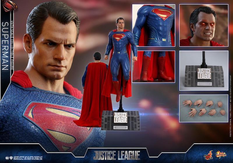 Hot Toys Justice League Superman Sixth Scale Figure Pre-Orders