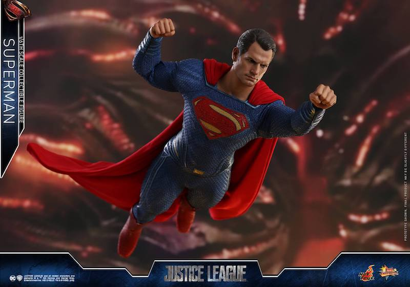 Hot Toys Justice League Superman Sixth Scale Figure