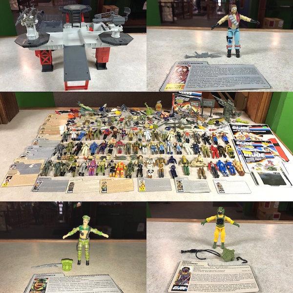 Kokomo Toys eBay Store – G.I. Joe: A Real America Hero 3 3/4″ Figures