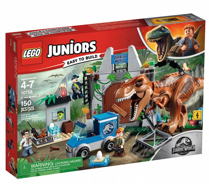 First LEGO Jurassic World: Fallen Kingdom Sets Revealed