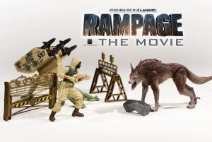 Rampage Movie Toys Exclusively At Wal Mart